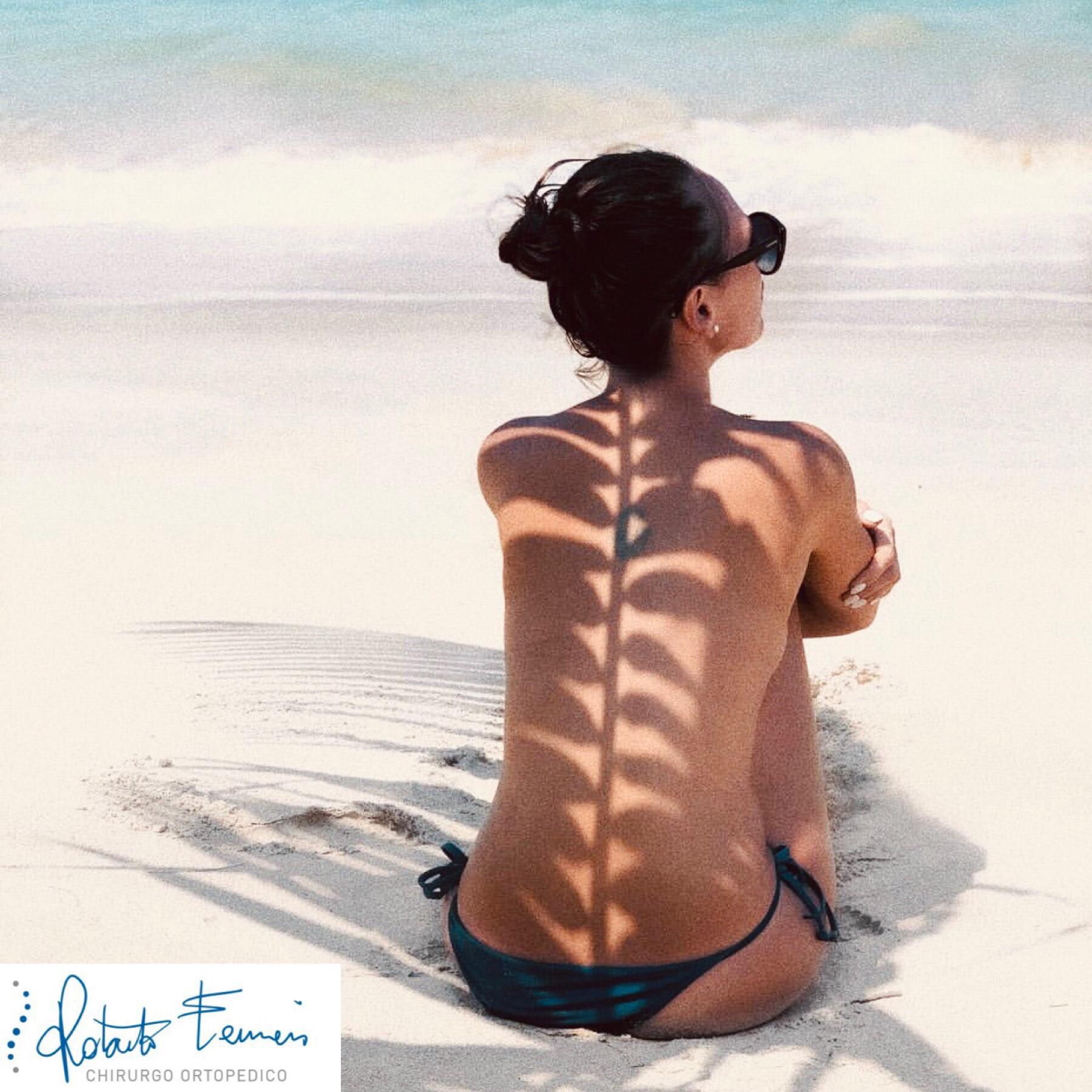 Estate e mal di schiena, consigli per prevenirlo